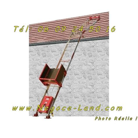 Monte Charge Tuile by Location Monte Mat 233 Riaux Charge Tuiles Altrad Negoce Land