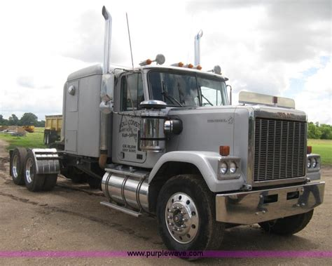 1985 gmc general semi truck no reserve auction on