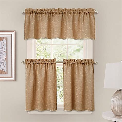 tier curtains for bedroom buy crystal brook window curtain tier pair in spice from