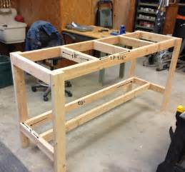 garage workbench designs 25 best ideas about workbench plans on pinterest
