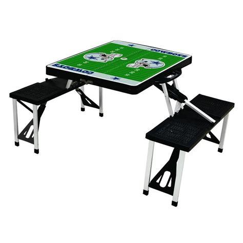 Patio Table Dallas Picnic Time Dallas Cowboys Sport Patio Picnic Table 811 00