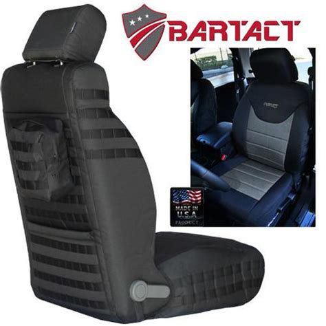 Jeep Tactical Seat Covers Bartact Jeep Wrangler Seat Covers Grab Handles And