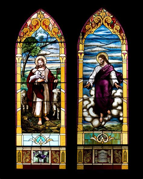 stained glass ls trinity s windows