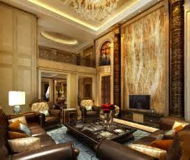 Luxury Livingroom by Design European Luxury Villa Living Room