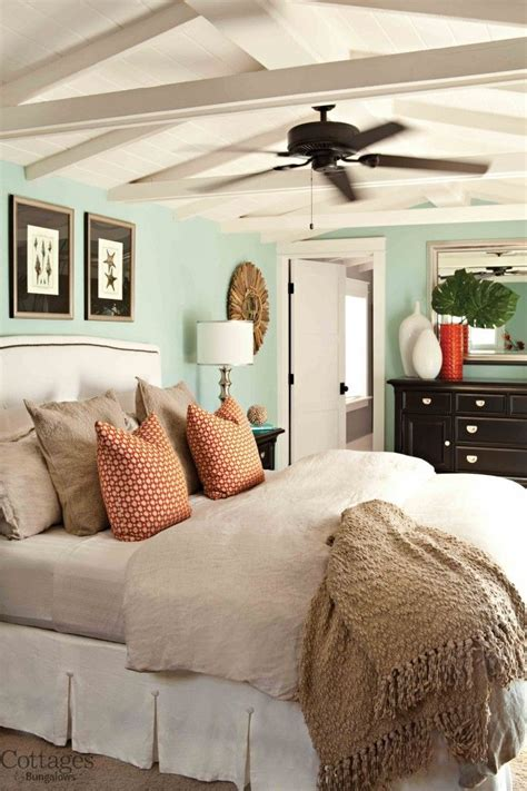 peaceful bedroom colors peaceful turquoise blue cottage style bedroom fourth of july house tour an americana cottage