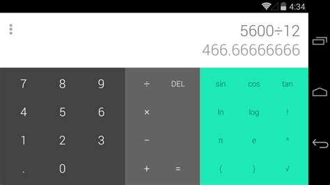 Google Calculator Lands as Standalone App at Play Store   GoAndroid