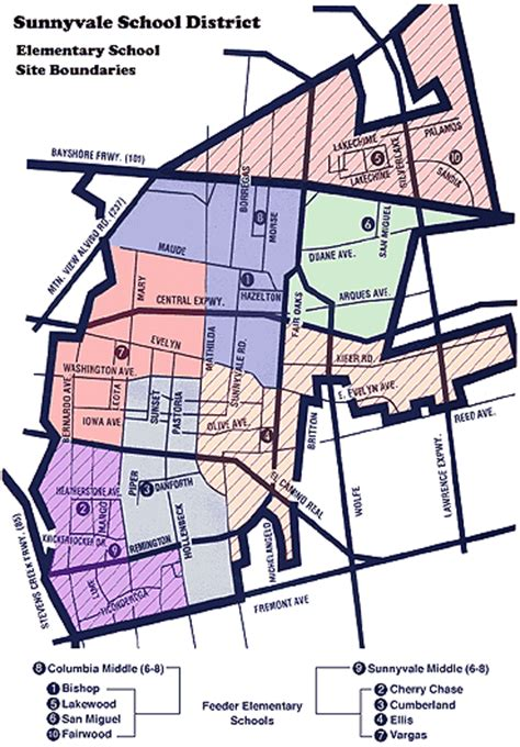 san jose school district map silicon valley houses sunnyvale elementary school