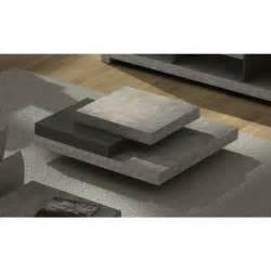 Table Basse Imitation Beton