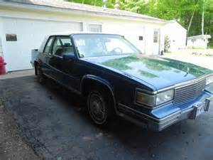 1987 Cadillac Sedan For Sale 1987 Cadillac Coupe Continental Kit For Sale