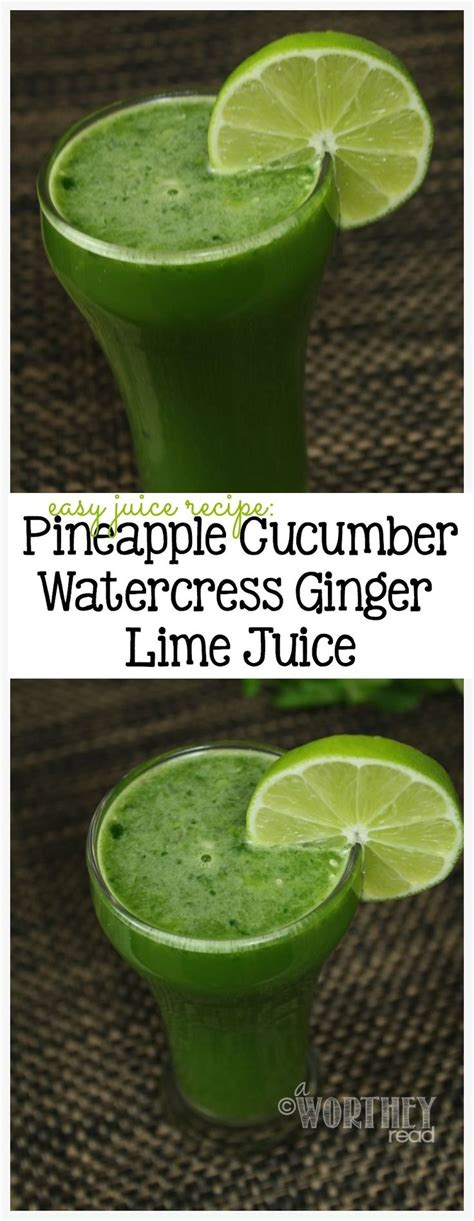 Carrot Cucumber Lime Detox Juice by 100 Easy Juice Recipes On Juice Detox
