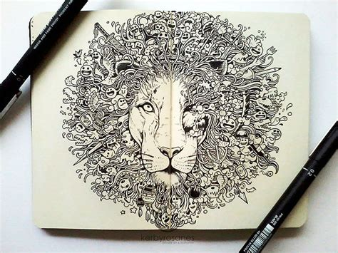 pen doodle impressively detailed pen doodles by kerby rosanes bored