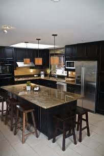 white l shaped kitchen with island 52 kitchens with wood and black kitchen cabinets