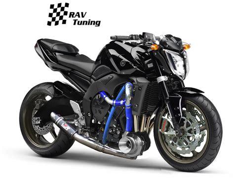 Yamaha Motorrad Turbo by Yamaha Fz1 Fazer Tuning 2010