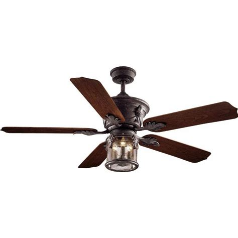 52 Outdoor Ceiling Fan With Light Hton Bay Ac370 Obp Milton Indoor Outdoor 52 Inch Ceiling Fan Light Kit Bronze Pppsaeb Avi