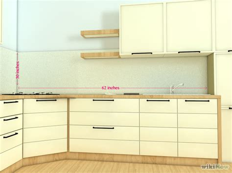 how to install a kitchen backsplash how to install a kitchen backsplash with pictures wikihow
