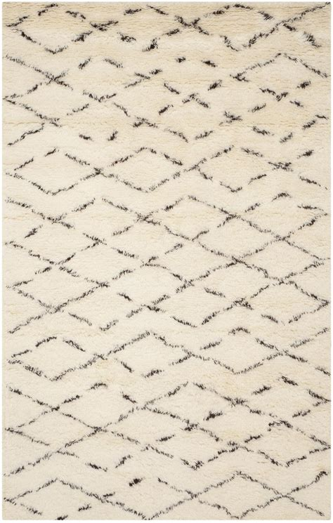 brown and white area rug safavieh casablanca csb847a white and brown area rug free shipping