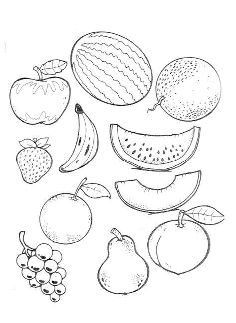 frutas para colorear en ingles imagui nombre de frutas en ingl 233 s para colorear imagui