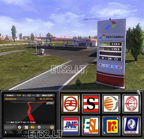 mod bus game euro truck simulator 2 euro truck simulator 2 mods bus indonesia