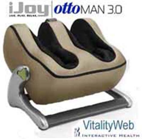 Ijoy Ottoman 3 0 Ottoman Robotic Calf Foot Human Touch Technology Is Interactive Health S Next