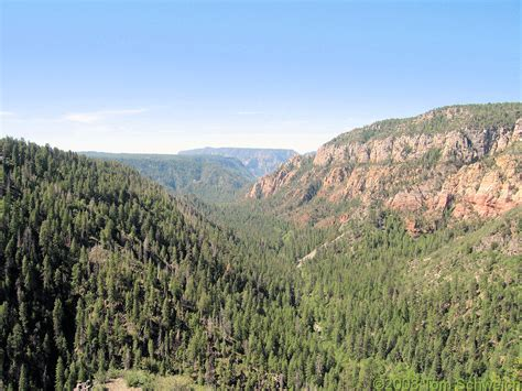 Coconino County Records Photo Oak Creek From Overlook