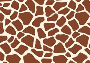 giraffe printable template free giraffe print vector free vector
