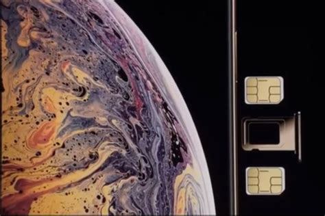 iphone xs esim inclusion means  india livemint