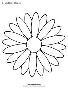 Free Flower Template Printable by Free Printable Templates Shape Flower Pdfs