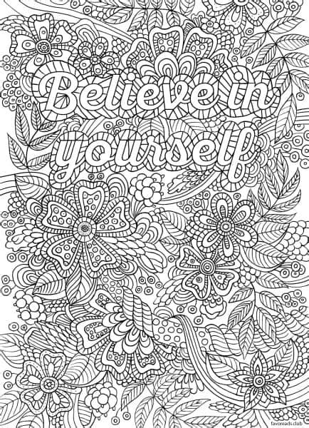d mcdonald designs coloring book 2017 books believe in yourself favoreads coloring club printable