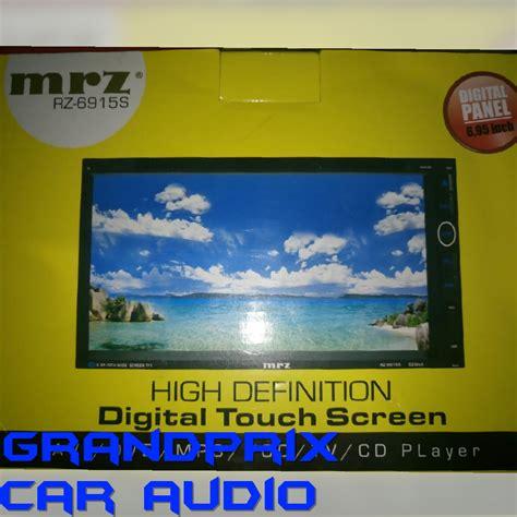 Tv Mobil Din Mrz Rz 6915 grandprix car audio tlp 081216152345 toko dan bengkel tempat pasang audio alarm central lock