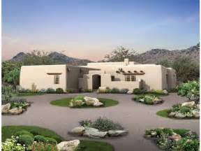 adobe style home plans eplans adobe house plan style courtyard 1934