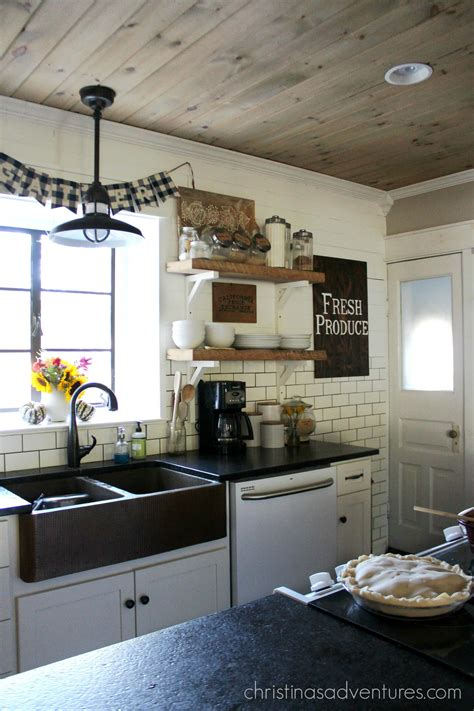 www kitchen farmhouse fall kitchen christinas adventures