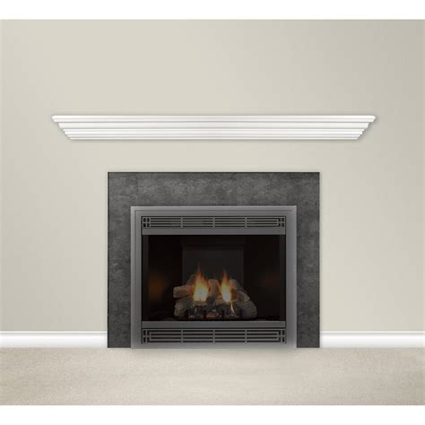 fireplace mantel shelves product white mantel shelf 72in white model hwms72w