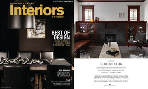Luxury Modern Home Modern Luxury Interiors Magazine Chicago Winter 2017 Vern