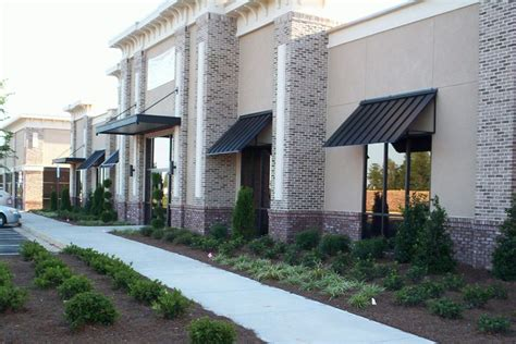 exterior awnings and canopies more architectural commercial metalworking
