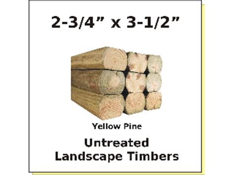 Untreated Landscape Timbers Sale Cox Hardware And Lumber Landscape Timber Untreated