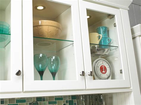 Kitchen Inserts For Cabinets how to choose kitchen lighting hgtv