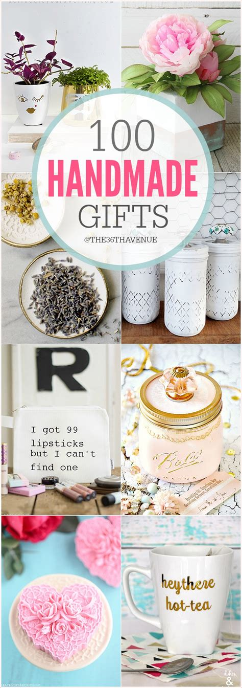 100 handmade gifts diy women gifts the 36th avenue