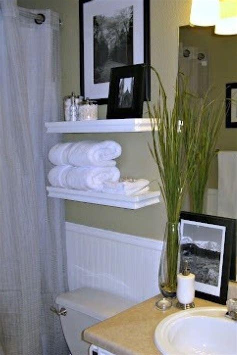 floating shelves in bathroom diy crafts pinterest