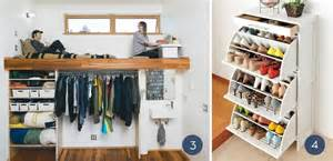 Clothes Storage Ideas For Small Spaces - unique clothing organization ideas for small spaces curbly