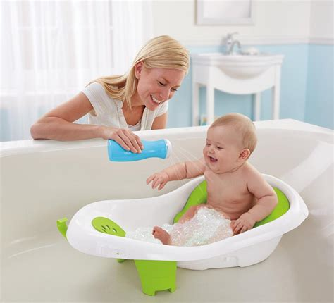 sitting bathtub for babies amazon com fisher price 4 in 1 sling n seat tub baby