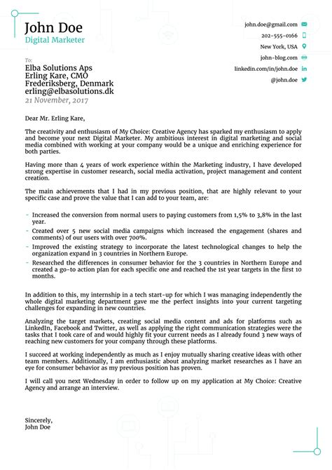 cover letter templates    hr  love