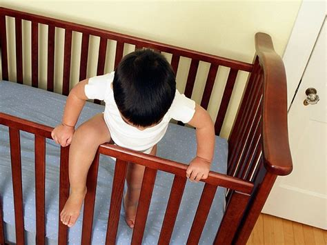 Transition Your Child Out Of The Crib Summit Kids Babies Climbing Out Of Cribs