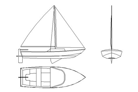 how to draw a boat in cad bloques cad autocad arquitectura download 2d 3d dwg