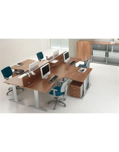 Scrivania A L by Scrivania Workstation A L Per Ufficio Con Gambe A T Da Cm
