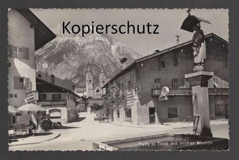 Motorrad Verkauf Telfs by Alte Postkarte Telfs In Tirol Mit Hoher Munde Motorrad