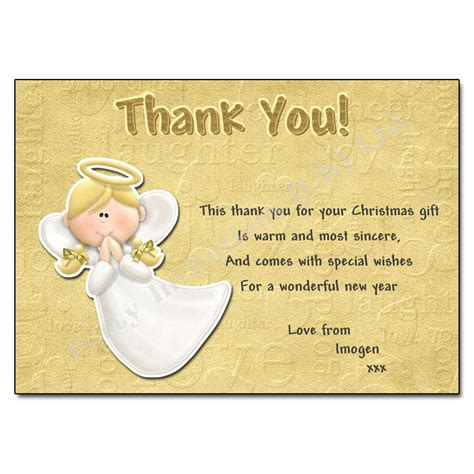 Thank You Card For Academic Advisor