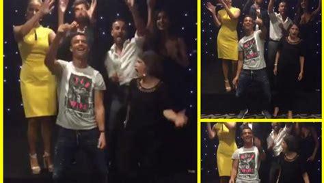 fotos kevin roldan y cristiano ronaldo nuevo baile medi 225 tico el reggaeton de cristiano ronaldo
