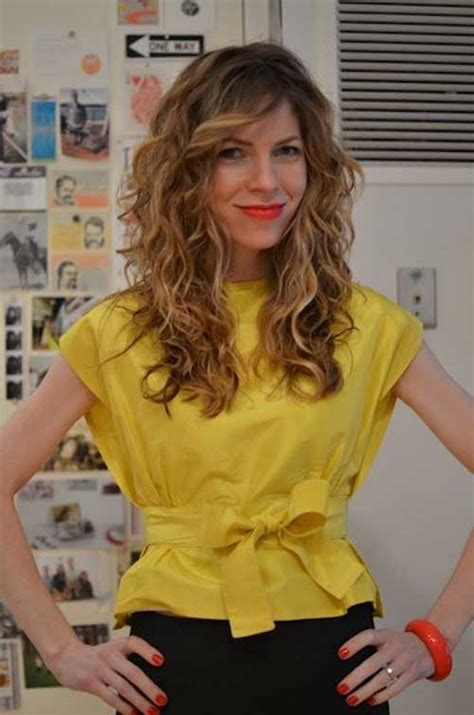 curl side bangs vertically layered curly hair long layered and curly hair on pinterest