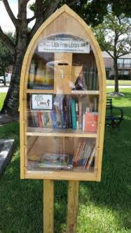 tiny library diane jones houston tx little free library at the church for our clear lake community a