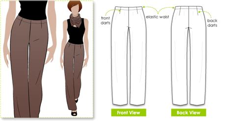 free jeans pattern sewing stylearc fay pant